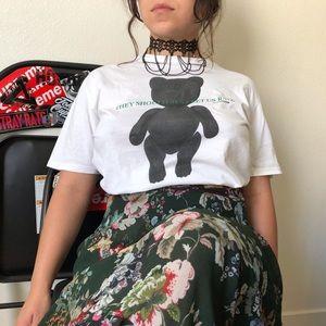Dior Homme Teddy Print T-shirt